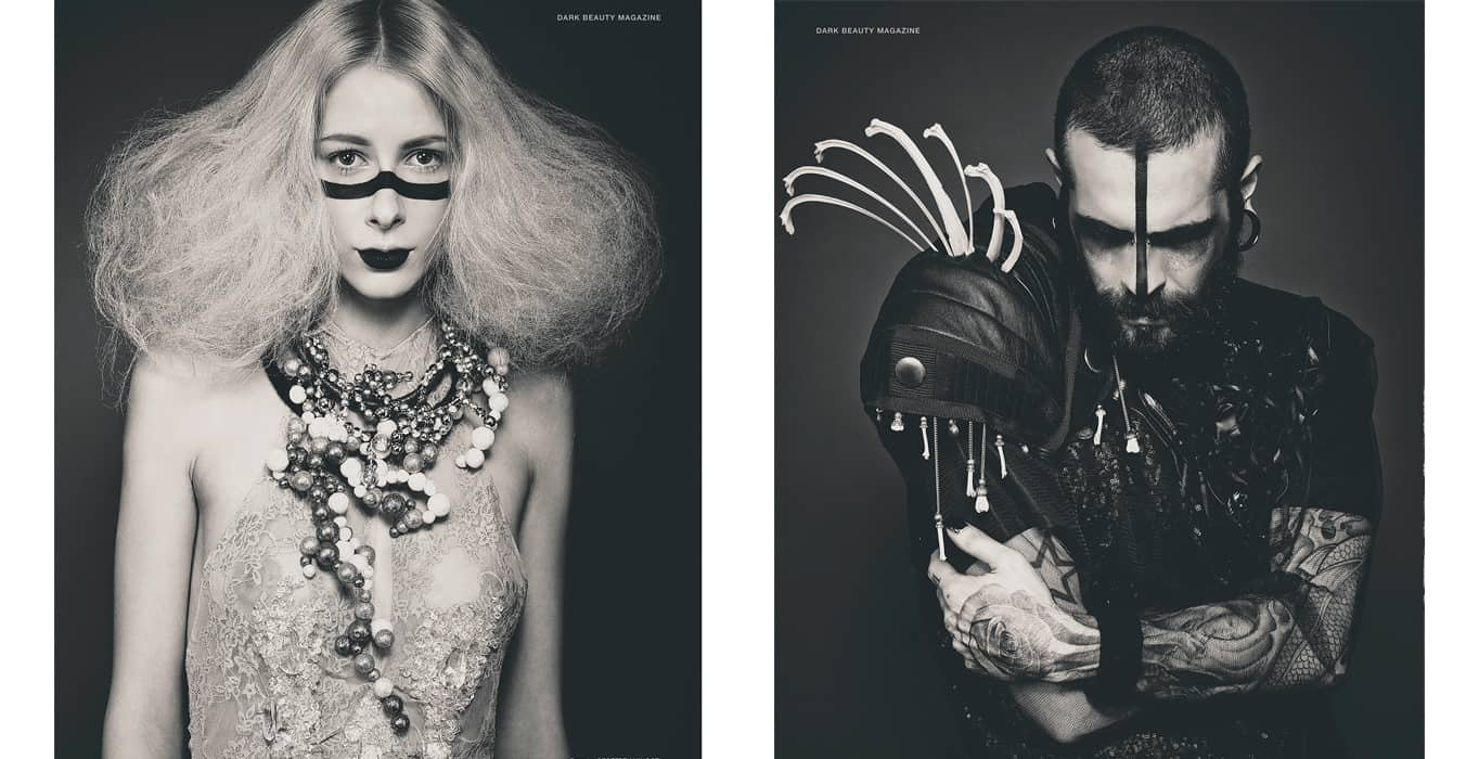 DARK BEAUTY Magazine par Jérôme Gimenez | Brigade Mondaine