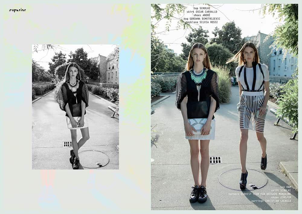 SUPERIOR Magazine par Katja Kat | Brigade Mondaine