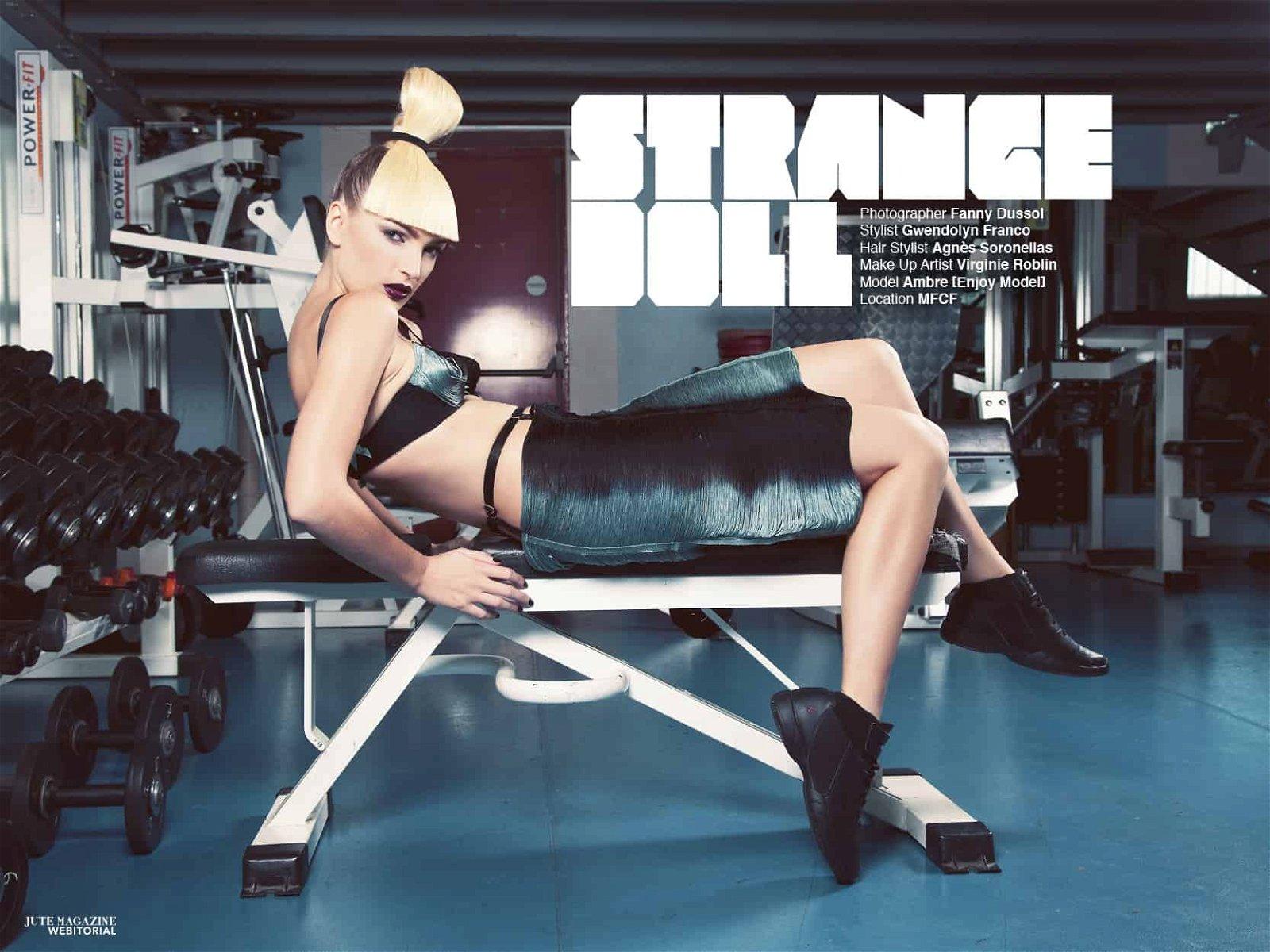 JUTE Magazine by Fanny Dussol | Brigade Mondaine