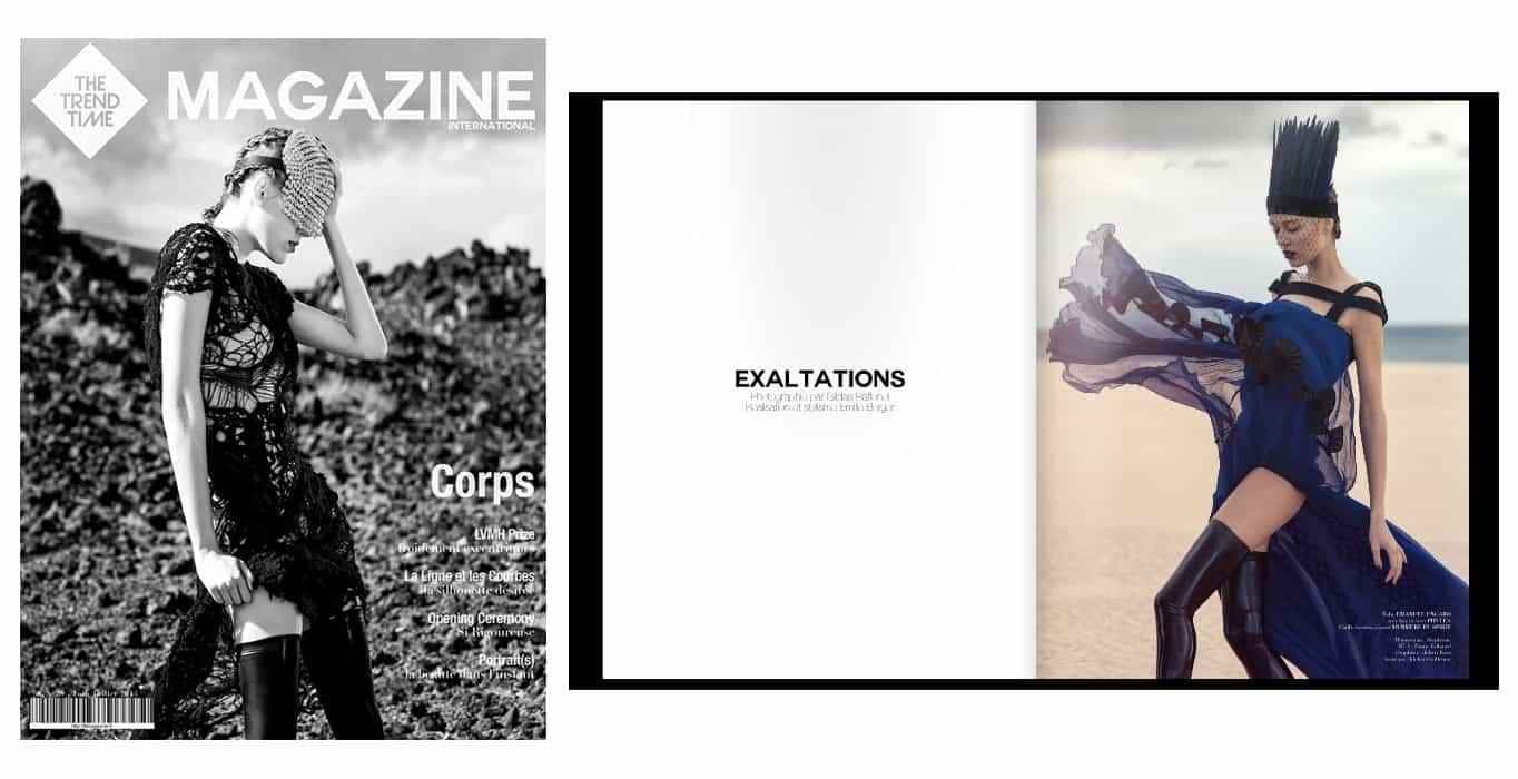 THE TREND TIME Magazine par Gildas Raffenel   Brigade Mondaine