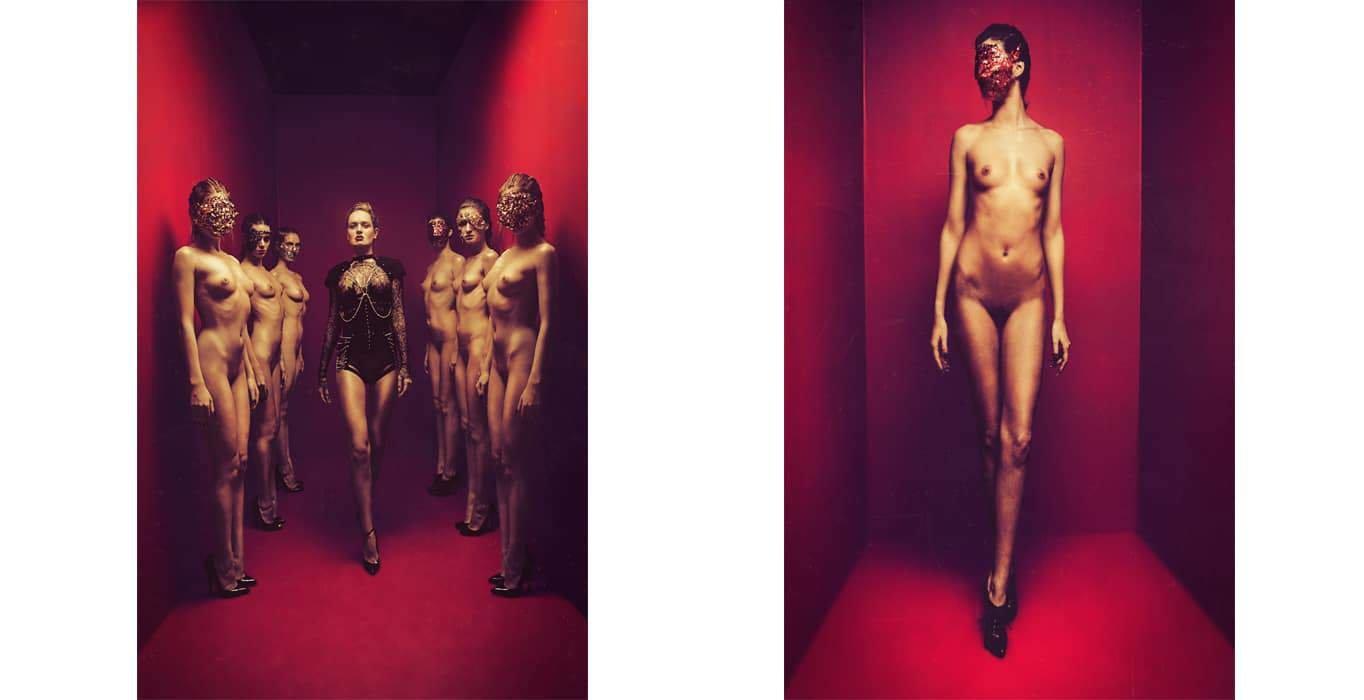 Editorial Dedalus for Entrepot magazine, style Winterstan for Brigade Mondaine Lingerie