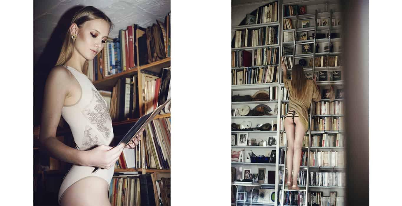 Edito I LOVE YOU magazine by Laurie Lou, lingerie Bordelle by Brigade Mondaine Paris