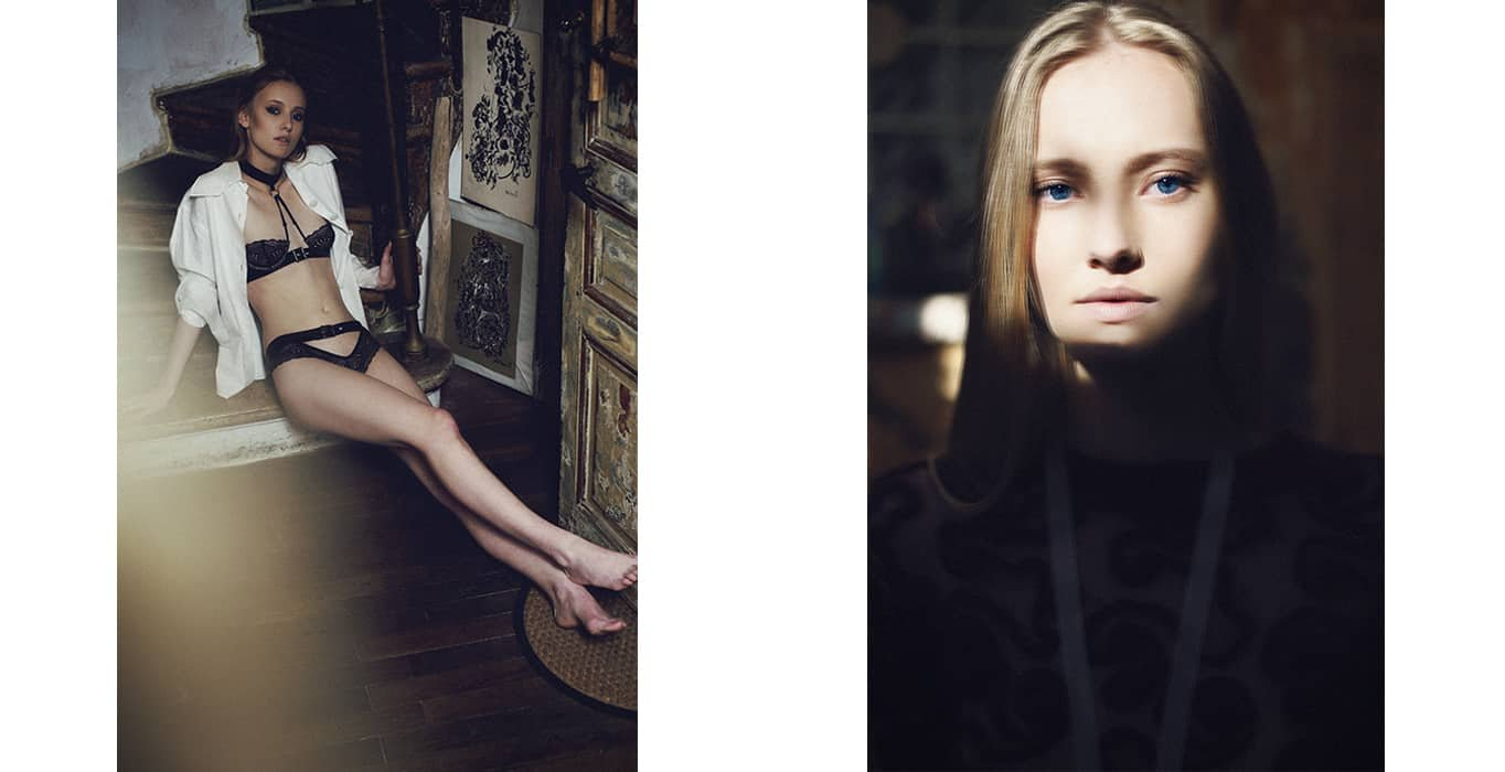 Edito I LOVE YOU magazine by Laurie Lou, lingerie by Brigade Mondaine Paris