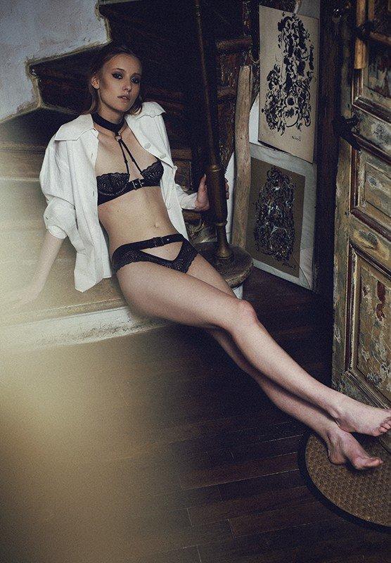 Edito I LOVE YOU magazine by Laurie Lou, lingerie Brigade Mondaine Paris
