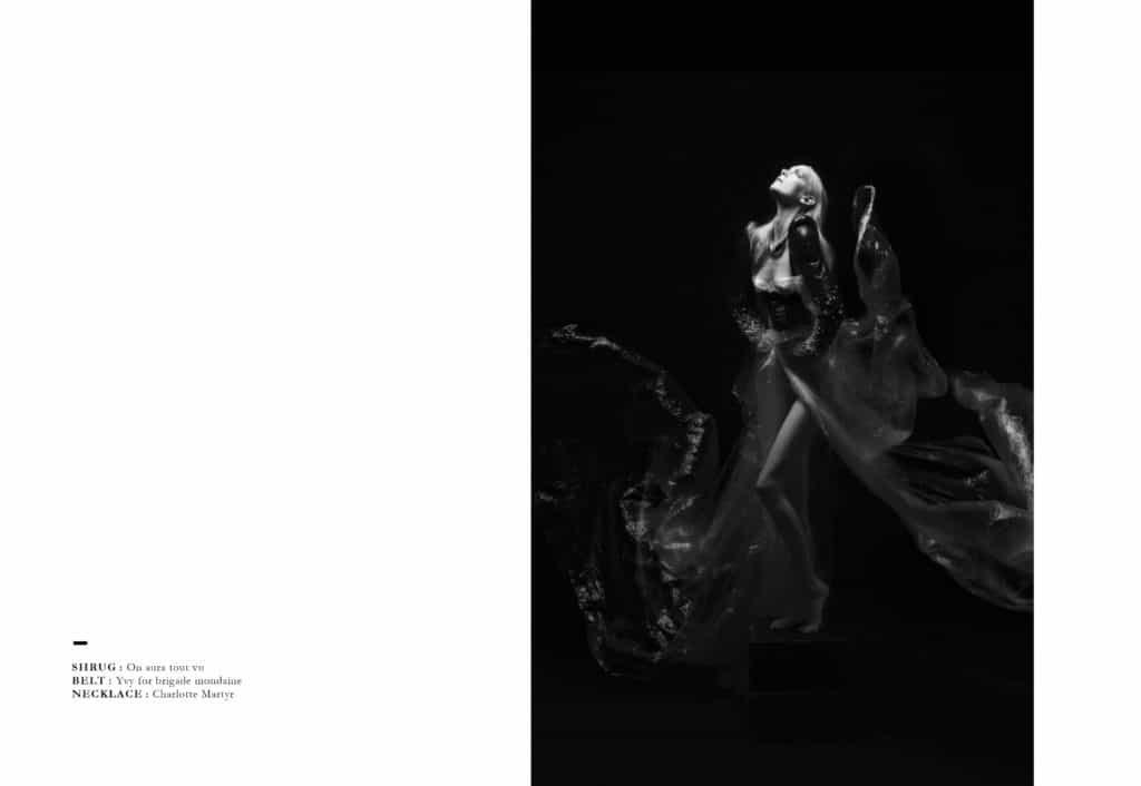 Редакционный журнал N.Y.X от Джованны Горасин, стиль Тары Зигфель для бригады Mondaine Paris