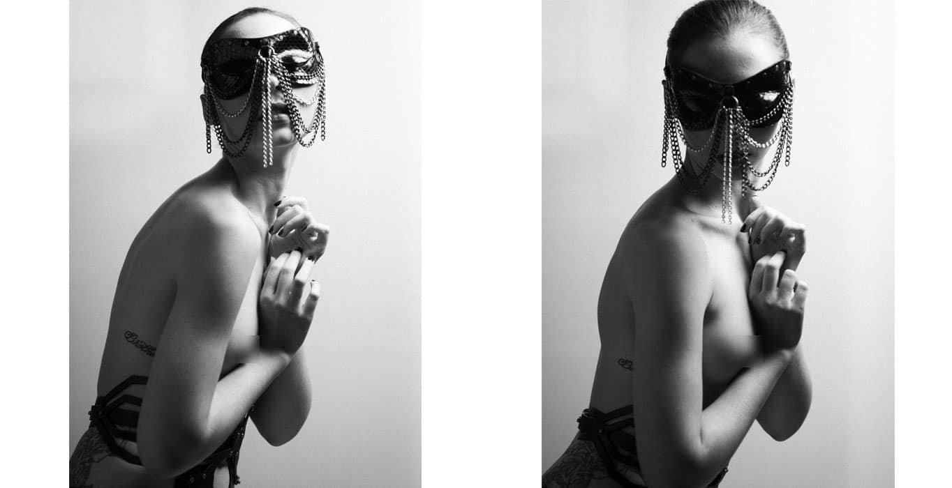 Shooting Paul Von Borax & Matilde Simone - Paul Seville Python Mask BDSMby Brigade Mondaine