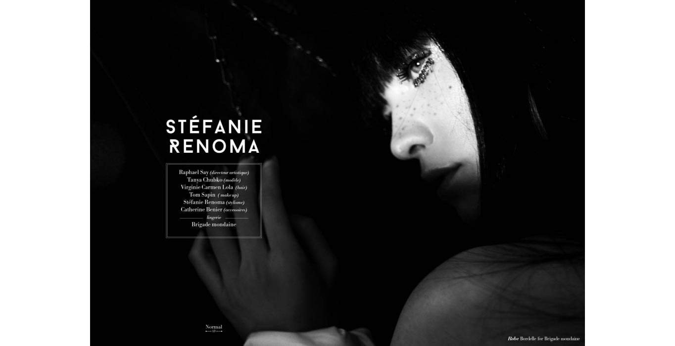 NORMAL Magazine & Brigade Mondaine shooting by Stephanie Renoma