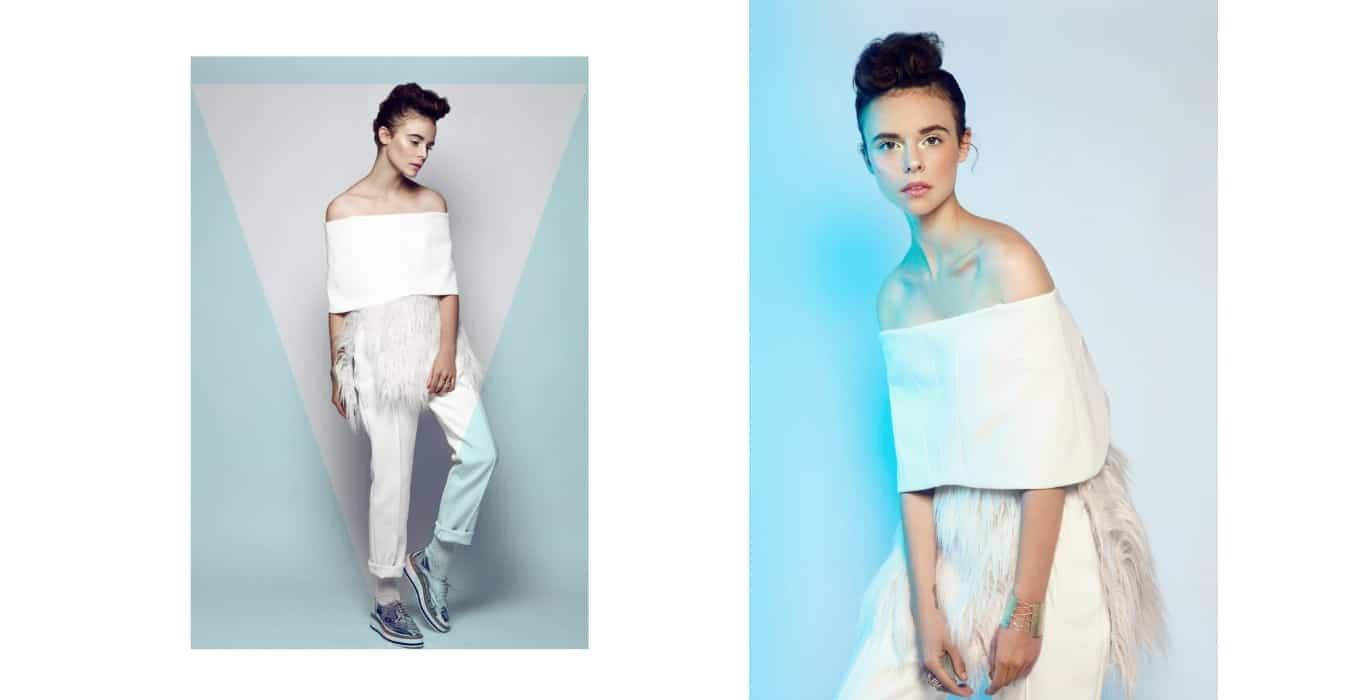 Revista VELVET | Angélique Besigot para la BRIGADA Mondaine