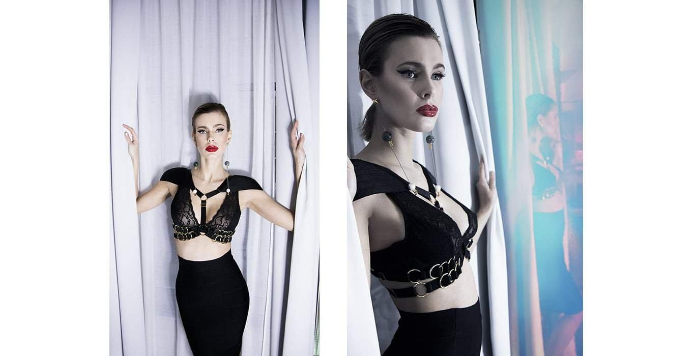 KOOS Magazine for Brigade Mondaine et Bordelle lingerie