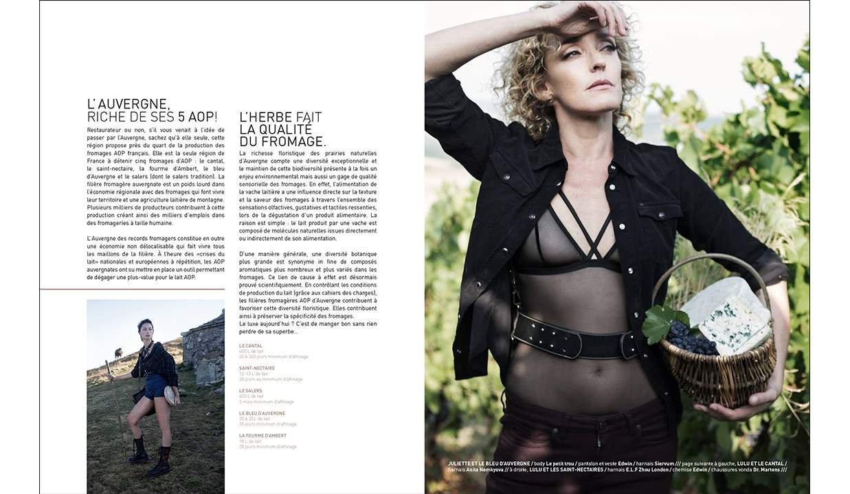 BOMBANCE Magazine for Brigade Mondaine