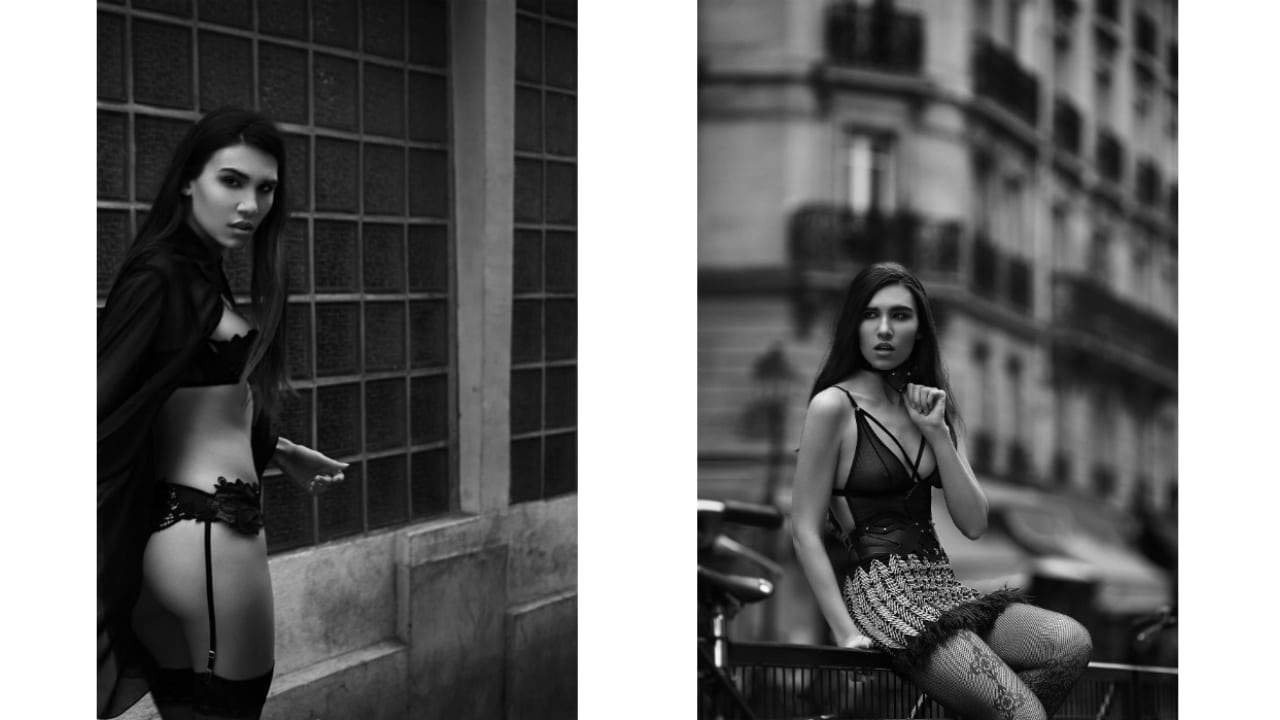 Maxime SOLDADO & Mathilde Simone for Brigade Mondaine - B&W