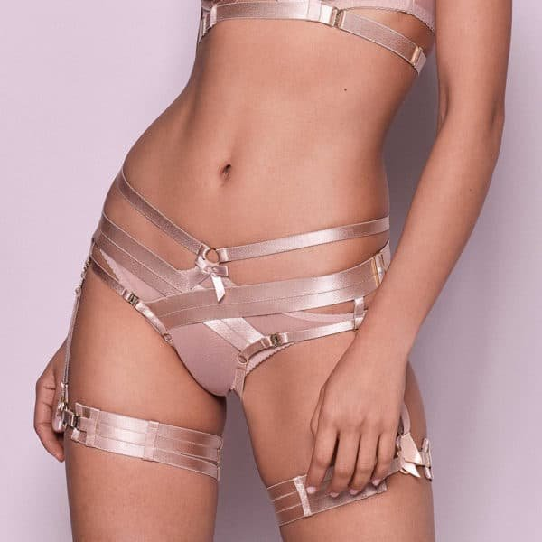 Caramel Harness Briefs from the Bordelle Signature Collection