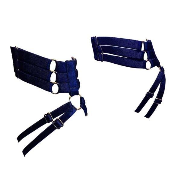 Arnés de tobillo azul medianoche de BORDELLE Firma