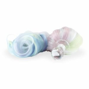 Plug Pony хвост многоцветный со съемным магнитным основанием, пастельные цвета Crystal Delights на Brigade Mondaine