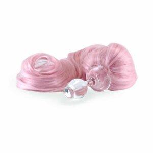 Розовый хвостовой вилка розовый хвостовой длинный со съемным магнитным основанием Кристалл Делайтс на Brigade Mondaine