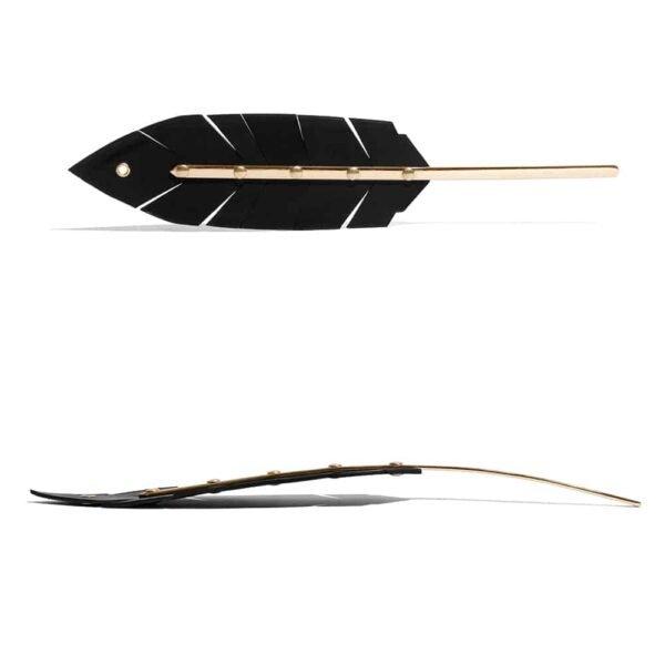 Овощное кожаное лопаточное перо с деталями из золотой латуни на 1ТП7Т при 1ТП5Т