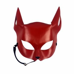 Red Fox Erotic Mask by E.L.F Zhou London at Brigade Mondaine