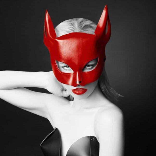 Masque érotique renard rouge par E.L.F Zhou London chez Brigade Mondaine
