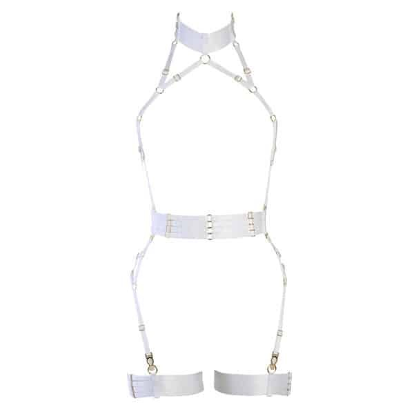 Alivia Playsuit white by FLASH YOU AND ME