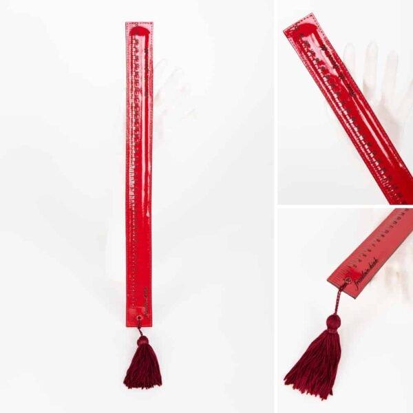 Ловушка для отшлепания красным помпоном FRAULEIN KINK на 1ТП5Т