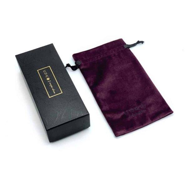 Упаковочная коробка UPKO с фиолетовым бархатным мешочком на Brigade Mondaine