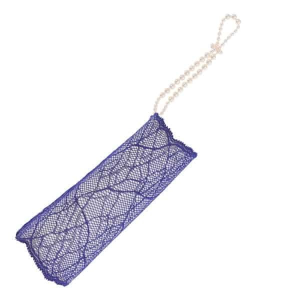 Blue lace cuff SYDNEY BRACLI collection with talker attachment at Brigade Mondaine