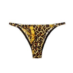 Elastic silk panty with panther print from CADOLLE collection SILK WILD at BRIGADE MONDAINE