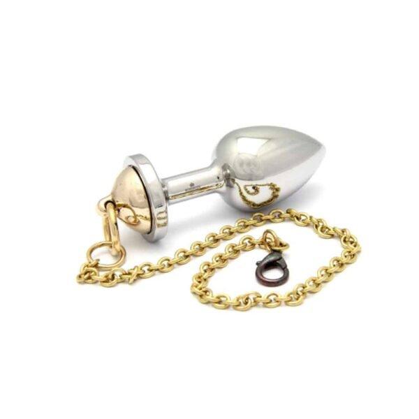 Golden and silver ROSEBUDS nipple plug from BRIGADE MONDAINE