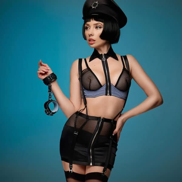 Roleplay Policewoman costume for naughty games