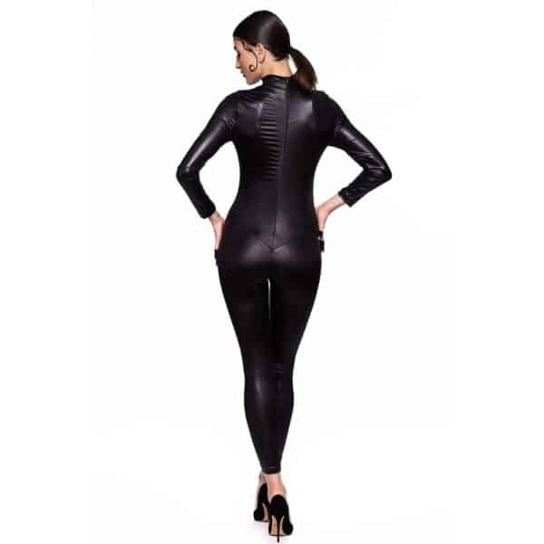 Catsuit infinity in Latex, covering from wrist to ankle, sexy and tight.